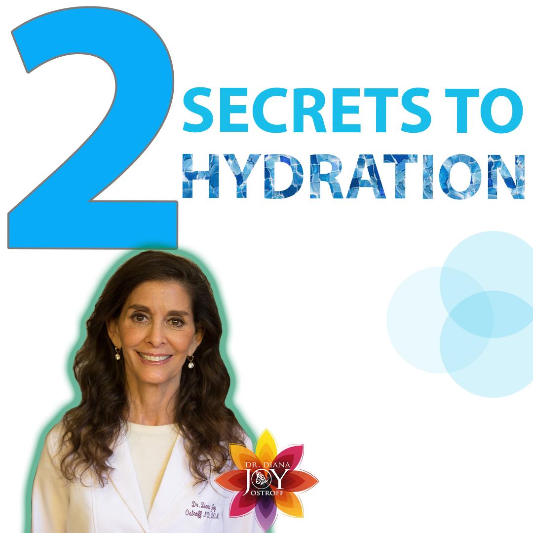 secrets to proper hydration
