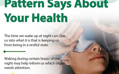 What do sleep patterns tell us about Health?
