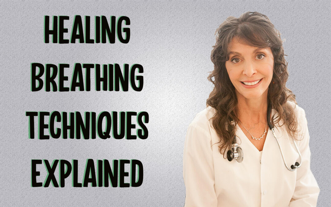 The Healing Breathing Techniques Explained by Dr. Diana Joy Ostroff (Tutorial)