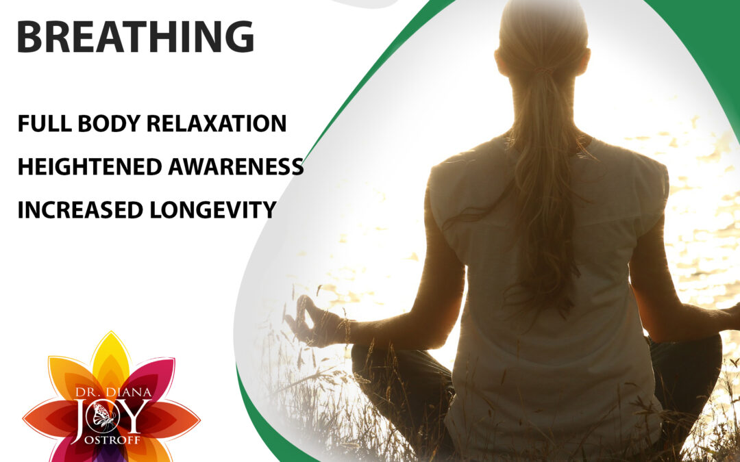 Breathing to Slow Down Heart Rate, Live Longer, and Relax More