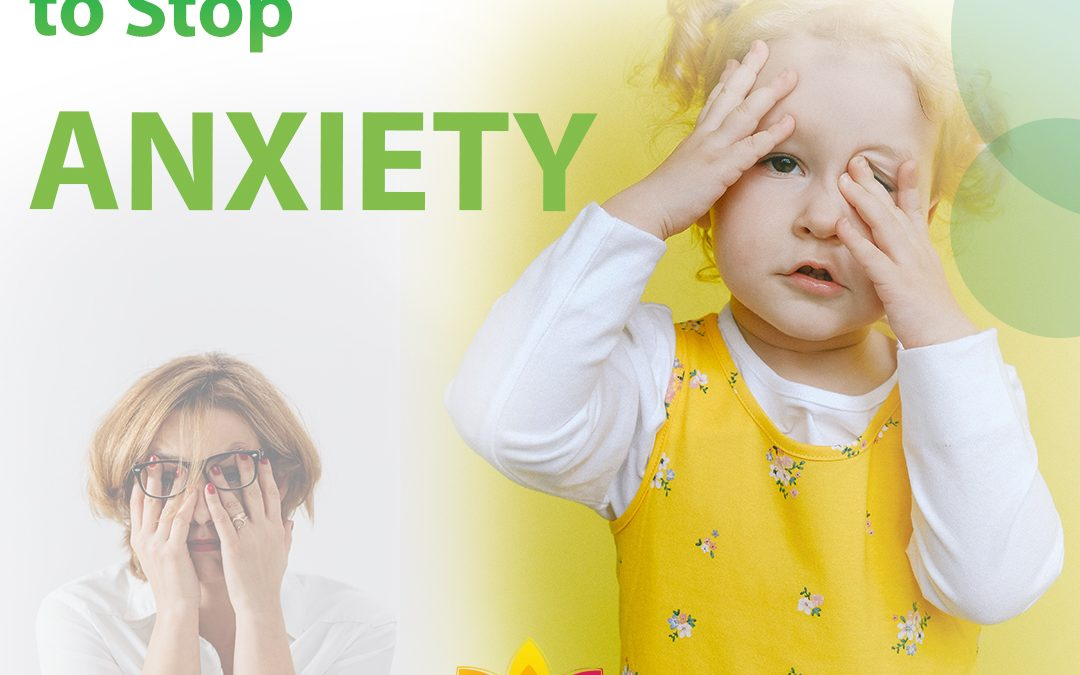 How to Get Rid Of Anxiety Naturally in 5 Steps!