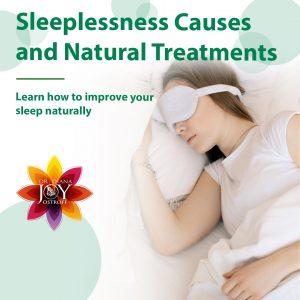 improve sleep naturally infographic