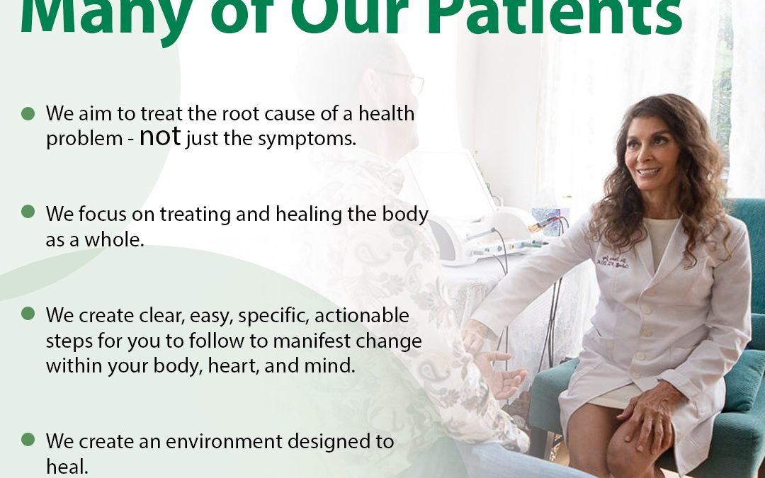 How Do Our Patients Get Well?